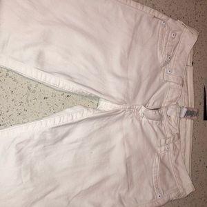 White True a Religion Skinny Jeans